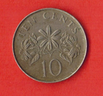 Singapore 10 Cents, 2011 - Singapore