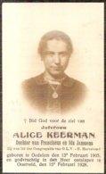 DP. ALICE KEERMAN ° OEDELEM 1905 - + OOSTVELD 1928 - Religion & Esotérisme