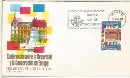 ESPAÑA SPD 1980 CONFERENCIA SEGURIDAD Y COOPERACION EUROPA - Instituciones Europeas