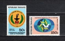 TOGO N°  995 + 996  NEUFS SANS CHARNIERE COTE  2.50€  TOURISME - Togo (1960-...)