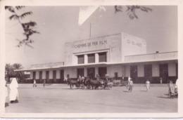 Seltene  ALTE Foto-  AK   SIDI-BEL-ABBES / Algerien  - Bahnhof - Gelaufen 1950 - Sidi-bel-Abbès