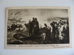 1932  GARIBALDI   50° ANNIVERSARIO MORTE  FORMATO PICCOLO NON VIAGGIATA - Personaggi Storici