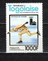 TOGO N° 1011A  NEUF SANS CHARNIERE COTE  18.00€   JEUX OLYMPIQUES  SPORT - Togo (1960-...)