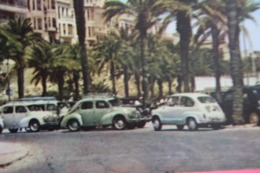Alicante. 1960s  Postcard - Beetle Car - PKW