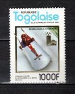 TOGO N° 1011C  NEUF SANS CHARNIERE COTE  18.00€   JEUX OLYMPIQUES  SPORT - Togo (1960-...)