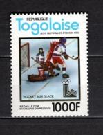 TOGO N° 1011D  NEUF SANS CHARNIERE COTE  18.00€   JEUX OLYMPIQUES  SPORT - Togo (1960-...)