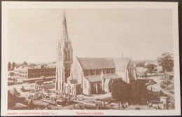 Ak Neuseeland - Stampex 1985 - Scenes Of Early Christchurch - Christchurch Cathedral - New Zealand