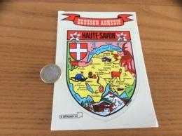 CPM AUTOCOLLANT, Sticker «HAUTE-SAVOIE (74)» (blason) - Autocollants