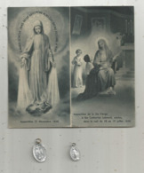 Image Religieuse , Pieuse , 4 Pages Et Ses 2 Médailles , Marie , Frais Fr 1.95 E - Images Religieuses