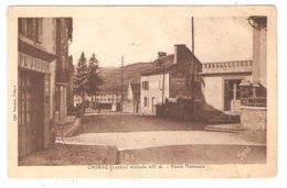 CPA 48 CHIRAC Route Nationale Café Jaudon Pub BYRRH - Autres Communes