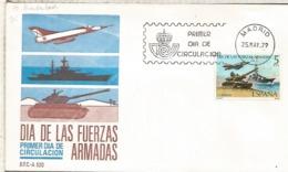 ESPAÑA SPD 1979 FUERZAS ARMADAS ARMY DAY MILITAR - Militares