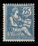France Mouchon Retouché 1902 - YT N°127 - Neuf Avec Charnière - 1900-02 Mouchon