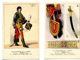 Les Uniformes Du Ier Empire Joachim MURAT Illustrateurs   BUCQUOY,P.BENIGNI,V.HUEN,R.LOUIS,L.MALESPINA,N°10 à 18 Complet - Personaggi