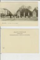 Bruxelles: Le Parc Et La Rue Royale. Carte Postale Cm 9x14 (début 1900) - Animée - Avenues, Boulevards