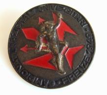 1949 CAMPIONATI  NAZIONALI  UNIVERSITARI  FIRENZE  PICCHIANI &  BARLACCHI FIRENZE   VECCHIO PIN'S SPILLA - Alpinismus, Bergsteigen
