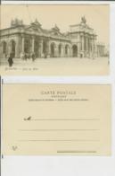 Bruxelles: Gare Du Midi. Carte Postale Cm 9x14 (début 1900) - Animée - Spoorwegen, Stations