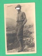 Alpini Alpino Foto Dalle Alpi Tridentine  Anni 30 - War, Military