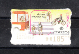 Spagna  - 1999. Educazione Stradale. Road Safety Education. Bus, Cyclist. Distributeurs. - Incidenti E Sicurezza Stradale