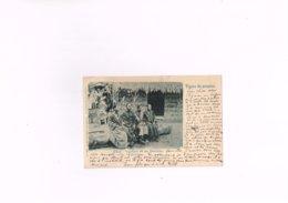 Congo,chef Congolais Et Ses Femmes Charles Bernhoeft Luxembourg,ancienne Carte Postale 1899. - Congo Belga - Altri