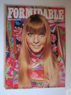 FORMIDABLE Numéro 18  Mai 1967 ANNIE PHILIPPE L'AMOUR DE L'AN 2000 COGONI EDDY MITCHELL TOURNIDOL SHEILA CLAUDE-FRANCOIS - Musique