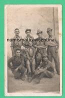 Alpini Alpino Artiglieria Da Montagna Foto Di Gruppo Anni 30 - War, Military