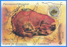 España. Spain. 2015. HB. Patrimonno Mundial.Cueva De Altamira. Cantabria - 1931-Hoy: 2ª República - ... Juan Carlos I