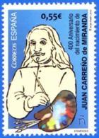 España. Spain. 2015. Juan Carreño De Miranda - 2011-... Unused Stamps