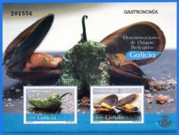 España. Spain. 2015. Gastronomia De Galicia. Mejillon. - 1931-Hoy: 2ª República - ... Juan Carlos I