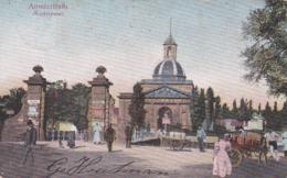 2x Kleur/zwartwit Amsterdam Muiderpoort Zuidzijde # 1904 Handkarren Met Tonnen Levendig 4 - Amsterdam