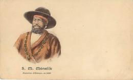 Menelik Empereur D' Ethiopie - Etiopia