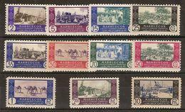 Marruecos 280/290 * Comercio.1948. Charnela - Marruecos Español