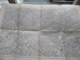 HASSELT ( 25 ) Belgien Categorie Stafkaart 1:60.000 ( Kaarten Uit Verzameling / Formaat 60 X 42 Cm. ) Zie Foto's ! - Europe