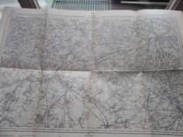 ATH ( 38 ) Belgien Categorie Stafkaart 1:60.000 ( Kaarten Uit Verzameling / Formaat 60 X 42 Cm. ) Zie Foto's ! - Europe
