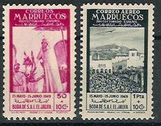 Marruecos 305/306 ** Boda Jalifa. 1949 - Marruecos Español