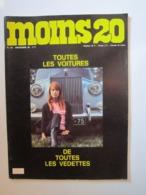 MOINS 20 Numéro 40 Novembre 1968 Toutes Les Voitures De Toutes Les Vedettes. SHEILA ADAMO JOHNNY CHARDEN CLAUDE-FRANCOIS - Musique