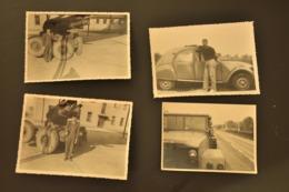1 Lot De 11 Photos Soldat à La Caserne,années 50,format 9/13 - Krieg, Militär