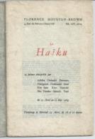 Le HAIKU - 24 Poèmes - 1964 - Art