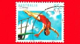 AUSTRALIA - Usato - 1991 - Diving ( Sport ) - Tuffi - 85 - 1990-99 Elizabeth II
