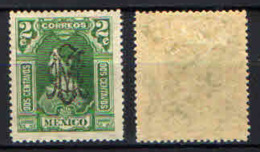 MESSICO - 1915 - OVERPRINTED IN BLACK - MH - Messico