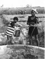 Photo Haute Volta (Burkina Faso) 1980. Un Puits Familial Pour Les Cultures Photo Du Père Gust Beeckmans - Africa