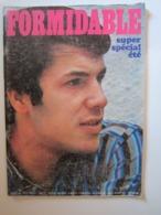 FORMIDABLE Numéro 22-23 Juillet-Août 1967 SHEILA MOSCONI SALVATORE SHARKS FRANCE GALL JOHN WAYNE - Musique