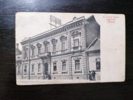 NOVI SAD / UJVIDEK - AZ OSZTRAK MAGYAR BANK FIOKJA - NEVER SEEN BEFORE - TRAVELLED 1913 - Serbia