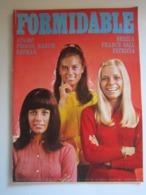 FORMIDABLE Numéro 26 Novembre 1967 SHEILA ADAMO PROCOL HARUM BATMAN FRANCE GALL PATRICIA - Musique