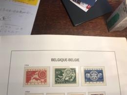 BELGIUM MNH** COB 952/54 ROTARY - Ongebruikt