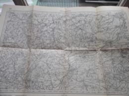 GRAMMONT ( 30 ) Belgien Categorie Stafkaart 1:60.000 ( Kaarten Uit Verzameling / Formaat 60 X 42 Cm. ) Zie Foto's ! - Europe