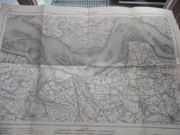 WATERVLIET ( 6 ) Belgien Categorie Stafkaart 1:60.000 ( Kaarten Uit Verzameling / Formaat 60 X 42 Cm. ) Zie Foto's ! - Europa