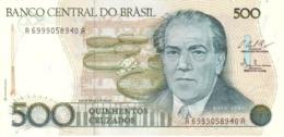 Brasil - Brazil 500 Cruzados 1987 Pk 212 C Firmas Bresser Gonçalves Pereira-Millet De Oliveira Ref 242-1 UNC - Brasil
