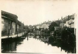 JOINVILLE HAUTE MARNE 1933  PHOTO ORIGINALE 8.50 X 6 CM - Places