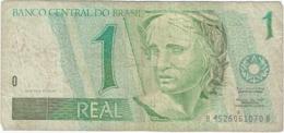 Brasil - Brazil 1 Real 1997 Pk 243 A.e Firmas Pedro Sampaio Malan & Arminio Fraga Neto Ref 2268-2 - Brasil