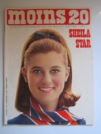 MOINS 20 Numéro 15 Août 1966 SHEILA STAR FRANCE GALL ELVIS PRESLEY POLNAREFF CLAUDE FRANCOIS JOHNNY - Musique
